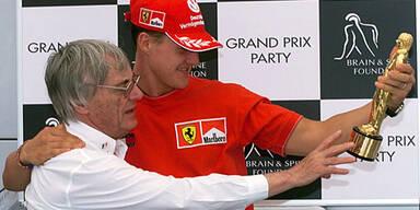 Schumacher Ecclestone