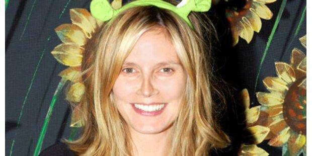 Schwangere Heidi pfeift auf Make-Up
