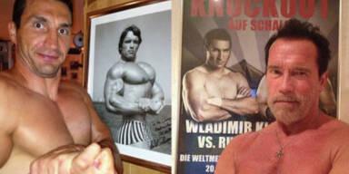 Schwarzenegger vs. Klitschko!