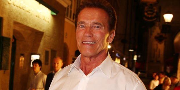 Arnie: Streit um seinen unehelichen Sohn?