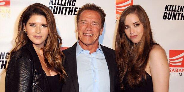 So sexy sind Arnies Töchter