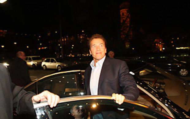Schwarzenegger zurück in seinem Geburtshaus