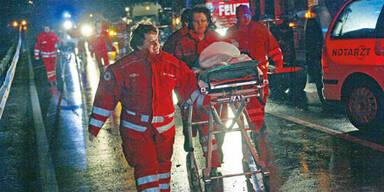 Gasunfall: Ärzte-Team geht k.o.