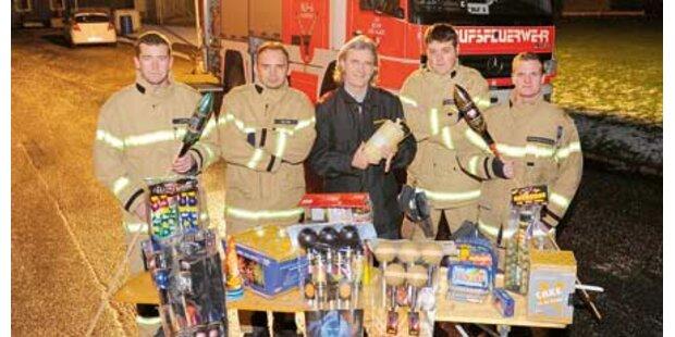 Feuerwehr testet Neujahrs-Böller