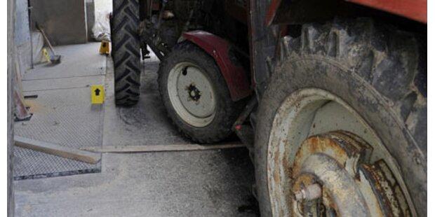 Urlauberauto rammte Traktor