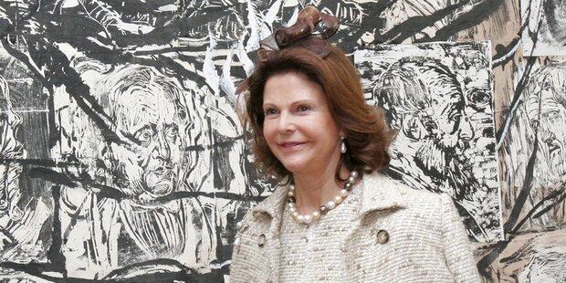 Sorge um Königin Silvia von Schweden
