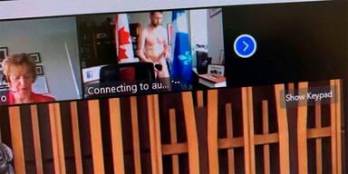 Kanadischer-Politiker nackt in Videokonferenz