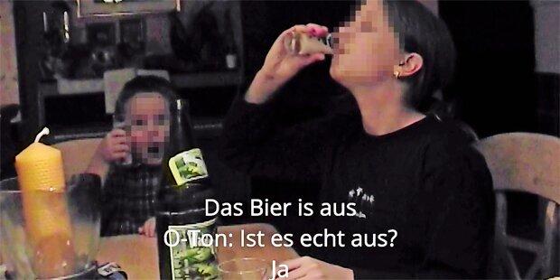 Arzt-Prozess in Graz: Kinder tranken bis zur Bewusstlosigkeit