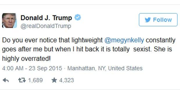 Trump ätzt auf Twitter gegen Fox-Moderatorin