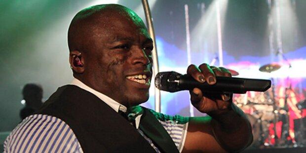 Seal singt auf der Klagenfurter Seebühne