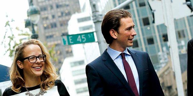 Kern, Faymann und Kurz zeitgleich in New York