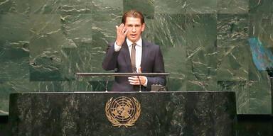 Applaus für Kurz vor der UNO