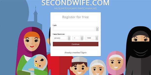 Webseite vermittelt Zweitfrauen an Muslime