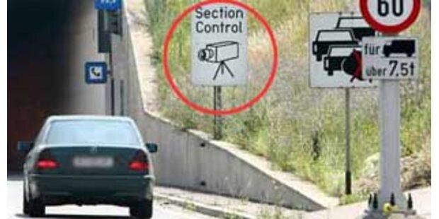 Section Control auf A2 wieder in Betrieb