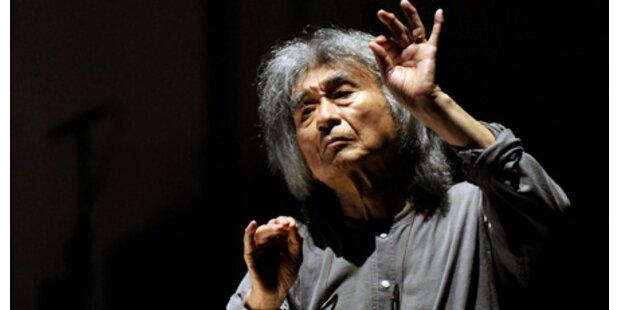 Seiji Ozawa sagt alle Auftritte ab
