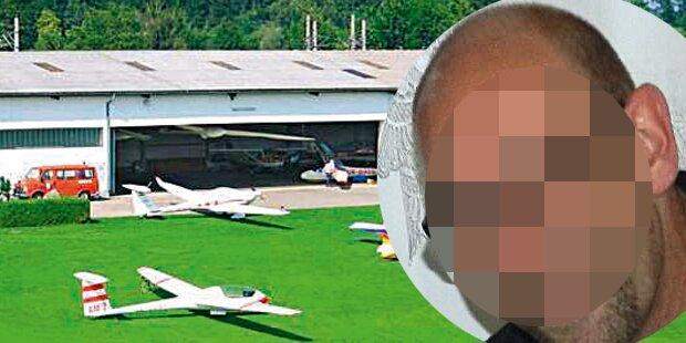 Todesdrama auf Flugplatz