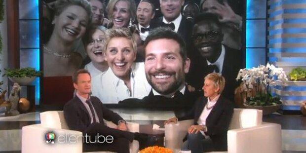 Kann Harris Ellens Oscar-Selfie toppen?