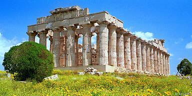 Selinunte beeindruckt nicht nur mit seinen Tempeln