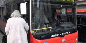 Berliner Busfahrer begeistert Wien