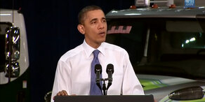 """Obama singt """"Can't feel my Face"""""""