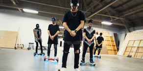 Justin Bieber und die Mini-Segways
