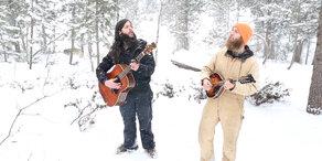 Gitarrensound mit Wolfsgeheule