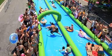 Slide the City - Sommerspaß 2015