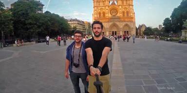 Weltreise liefert grandiose Selfies