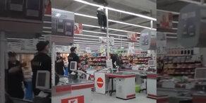 Skurril: Ladendieb flüchtet auf Umwegen