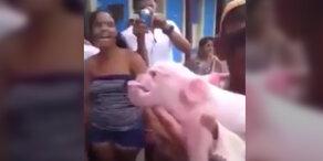 Mutanten-Schwein hält die Welt in Atem
