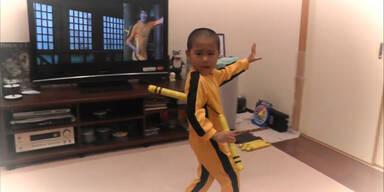 5- jähriger ist Reinkarnation von Bruce Lee!