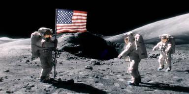 Furzender Astronaut