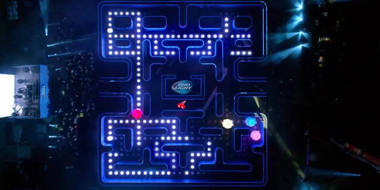 Lebensgrosses Pacman-Spiel!