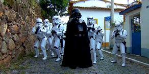Darth Vader erobert die Straßen