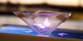 Smartphone erzeugt 3D-Hologramm!