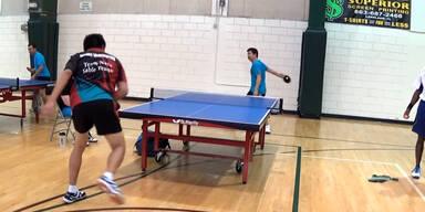 Der beste Ping-Pong-Schlag aller Zeiten