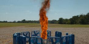 So sieht ein Feuertornado aus!