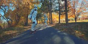 Star Wars auf Longboards – Eine irre Mischung