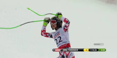 SKI WM 2015: Fenninger holt Gold im Super G 2