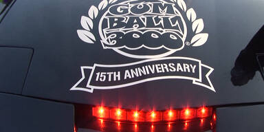 Gumball 3000 gastiert mit PS-Boliden in Wien