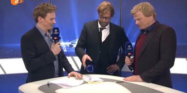 Jürgen Klopp rastet in TV-Studio aus