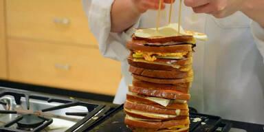 Riesen-Toast mit 20 Scheiben