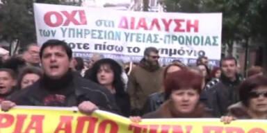 Streik: Griechen gehen auf die Barrikaden