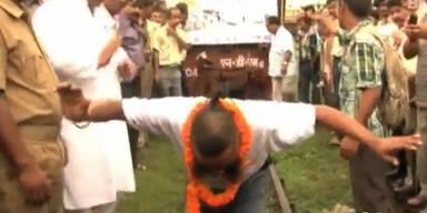 Inder zieht 41 Tonnen mit seinen Haaren