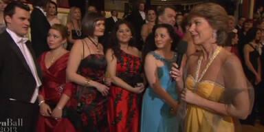 Die schönsten Roben des Opernballs 2013