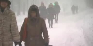 """USA: Blizzard """"Q"""" zieht über Mittleren Westen"""