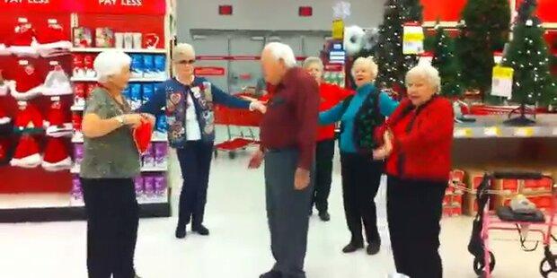 Seniorenflashmob: