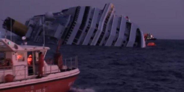 Concordia: Feigling-Vorwürfe gegen Kapitän