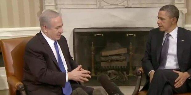 Israels Ministerpräsident bei US-Präsident Barack Obama
