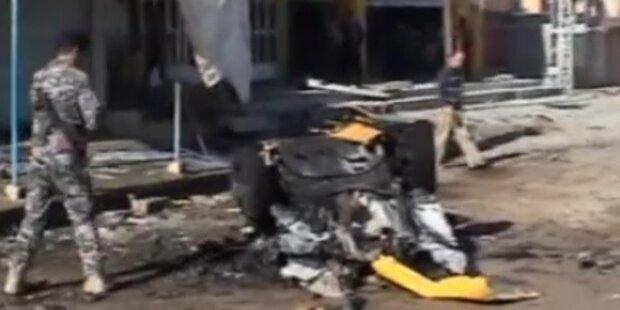 Dutzende Tote bei Anschlagserie im Irak